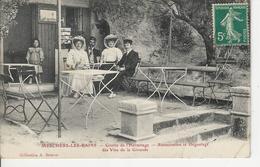 Mechers Les Bains Grotte De L'hermitage Restauration Et Degustage De Vins De Gironde - Meschers