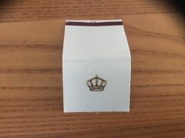 """Pochette D'allumettes Tissu Espagne """"Couronne"""" - Matchboxes"""