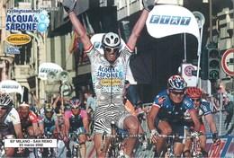 CYCLISME: CYCLISTE : MARIO CIPPOLINI - Ciclismo