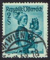 Österreich. 1948, MiNr 919, Gestempelt - 1945-.... 2. Republik