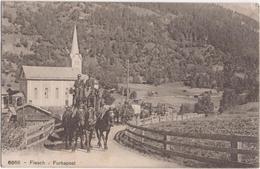 Fiesch - Furkapost - & Horse Carriage - VS Valais