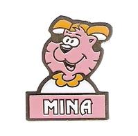PIN'S MINA - LAPIN CASTOR - Marcas Registradas