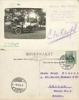Indonesia, JAVA BANDUNG, Old Car (1911) Foto Studio C.M. Luijks RPPC - READ !! - Indonesië