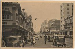 West Street, Durban - & Old Cars - South Africa