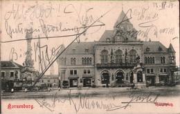 ! Alte Ansichtskarte 1904, Korneuburg, Weinviertel, Niederösterreich, Hauptplatz - Korneuburg