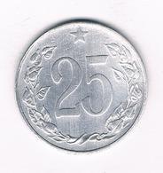 25 HALLER 1953  TSJECHOSLOWAKIJE /5556/ - Tchécoslovaquie