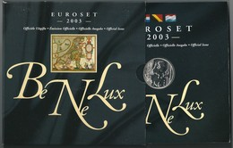 BENELUX 2003  - DIVISIONALE FDC - N.° 24 Pezzi In Euro - Confezione Originale (5 Foto) - Belgio