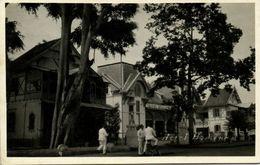 Indonesia, JAVA BANDUNG, Hotel Homann (1930s) RPPC Postcard - Indonesië