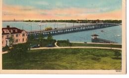 CPA, New Hampton Boulevard Bridge, NORFOLK, VA, VIRGINEI, ETATS UNIS, Jamais Voyagée, Petit Pli Angle Haut Droit - Norfolk