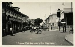 Indonesia, JAVA BANDUNG, Groote Postweg Concordia, Lafayette 1920s RPPC Postcard - Indonesië