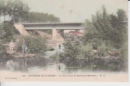 HAUTE MARNE -  508 - Environs De St Dizier - Le Pont Canal De  HOERICOURT MOESLAINS - H.G ( Carte Colorisée ) - Frankreich