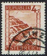 Österreich. 1945, MiNr 739, Gestempelt - 1945-.... 2. Republik
