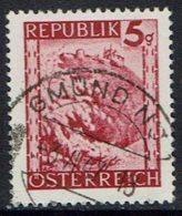 Österreich. 1945, MiNr 740, Gestempelt - 1945-.... 2. Republik