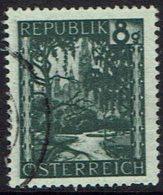 Österreich. 1945, MiNr 744, Gestempelt - 1945-.... 2. Republik