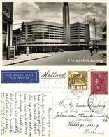 Indonesia, JAVA BANDUNG, Denis Building, Coca Cola Sign (1938) RPPC Postcard - Indonesië