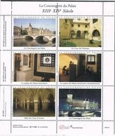 33530. Hojita Viñetas LA CONCIERGERIE Du Palais (France). Art Dent. Label, Vignettes, Cinderellas ** - Commemorative Labels