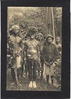CPA Congo Belge Afrique Noire Non Circulé Type Ethnic Voir Scan Du Dos - Belgian Congo - Other