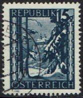 Österreich. 1945, MiNr 748, Gestempelt - 1945-.... 2. Republik