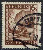 Österreich. 1945, MiNr 749, Gestempelt - 1945-.... 2. Republik