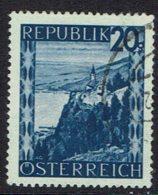 Österreich. 1945, MiNr 750, Gestempelt - 1945-.... 2. Republik