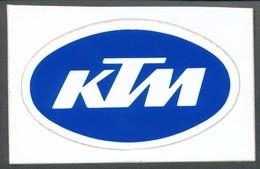 Vignette  Aufkleber   KTM - Vignetten (Erinnophilie)