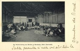 Indonesia, JAVA BANDUNG, Workhouse Of The Blind (1899) Postcard - Indonesië