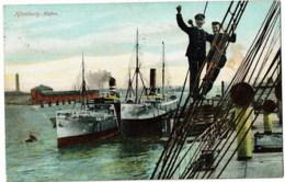 Hamburg Hafen - Paquebote