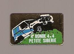 PIN'S RALLYE 4 ème RONDE 4 X 4 PETITE SIBERIE 1991 - Rallye