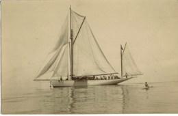 Sailboat Foto Postcard - Voiliers
