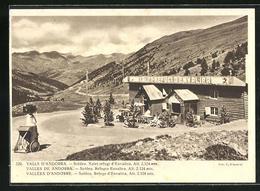 AK Vallees D`Andorre, Soldeu, Refuge D`Envalira - Andorra