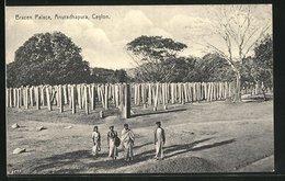 AK Anuradhapura, Brazen Palace - Sri Lanka (Ceilán)