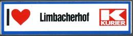 Vignette  Aufkleber  I Hou Van Limbacherhof  Kurier - Vignetten (Erinnophilie)