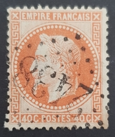 1863-1870, Emperor Napoléon Lll, 40c, Empire Français, France - 1863-1870 Napoleon III With Laurels