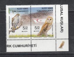 Cyprus Zypern Türk. 2019 Stamp Bird Vogel Set MNH** - 2019