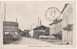 CHAUMOUSEY (88) GRANDE-RUE. 1931. - France
