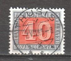 Switzerland 1945 Mi 451 Canceled PAX - Oblitérés