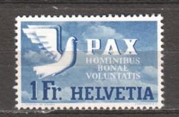 Switzerland 1945 Mi 455 MH PAX - Schweiz