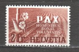 Switzerland 1945 Mi 456 MH PAX - Schweiz