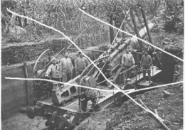 Armée Française ALVF Artillerie 14-18 240mm - Krieg, Militär