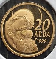"Bulgaria 20 Leva 1999 ""The Virgin Mary With Infant Christ"" - Gold - Bulgaria"