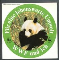 Vignette Sticker   WWF-und Ich Für Eine Lebenswerte Umwelt - Vignetten (Erinnophilie)