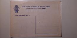 Politica - Partito Italiano Dei Mutilati Ed Invalidi Di Guerra - Caserta - Pres. Tommaso Guzzi - Natale 1961 - Partiti Politici & Elezioni