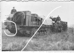 Armée Française Avant Train Saint Chamont N°57 FRANCE 40 Artillerie Chenille - Krieg, Militär