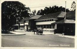 Indonesia, JAVA BANDUNG, Gemeente Bandoeng (1920s) RPPC Postcard - Indonesië