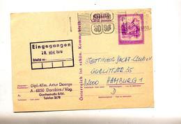 Carte Postale 4 S Almsee Flamme Dorbirn - Ganzsachen