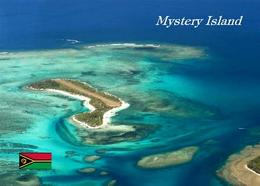 Vanuatu Mystery Island Aerial View New Postcard - Vanuatu