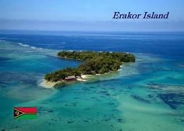 Vanuatu Erakor Island Aerial View New Postcard - Vanuatu
