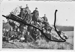 Armée Française 194 GPF à Chenille Artillerie France 40 - Krieg, Militär