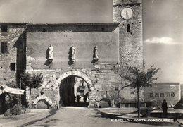 SPELLO - PORTA CONSOLARE - PERUGIA - VIAGGIATA - Perugia