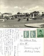 Indonesia, JAVA BANDUNG, Jalan Suniaraja, Cars (1958) RPPC Postcard - Indonesië